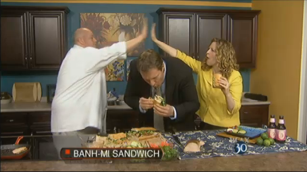 WCAX The 30 Banh Mi Sandwich